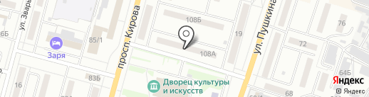 Персона на карте Ленинска-Кузнецкого