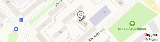 Амарант на карте Дудинки