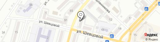 Магнит на карте Ленинска-Кузнецкого