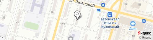 7 морей на карте Ленинска-Кузнецкого