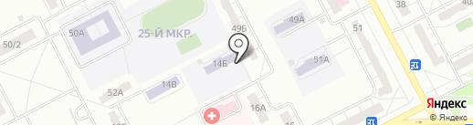 Общеобразовательная школа психолого-педагогической поддержки №104 на карте Кемерово