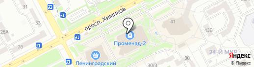 Салон-ателье на карте Кемерово