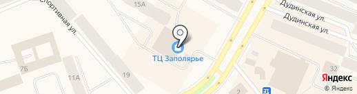 Центр Ювелир на карте Дудинки