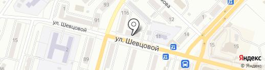 Карат на карте Ленинска-Кузнецкого