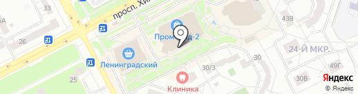 Любушка на карте Кемерово