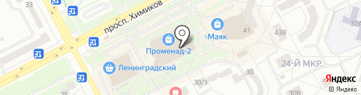 Бутик одежды на карте Кемерово