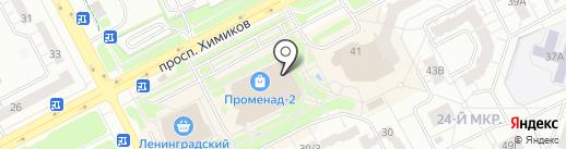 Я Леди на карте Кемерово