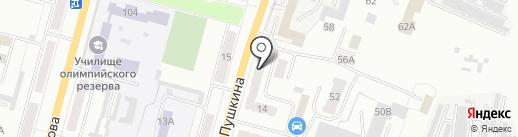 Центр занятости населения г. Ленинск-Кузнецкого на карте Ленинска-Кузнецкого