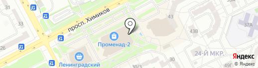 Версаль на карте Кемерово