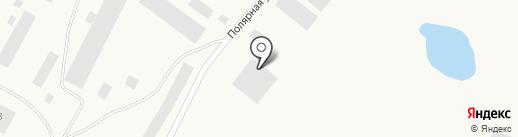 Заполярное автотранспортное предприятие на карте Дудинки
