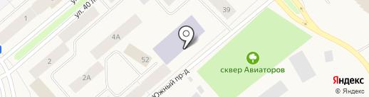 Дудинская средняя школа №3 на карте Дудинки