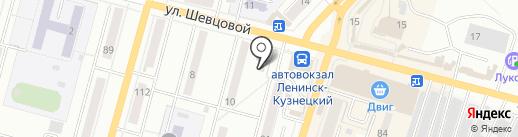 Урожайная грядка на карте Ленинска-Кузнецкого
