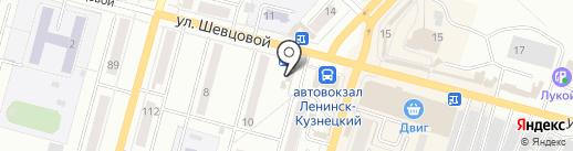Фантазия на карте Ленинска-Кузнецкого