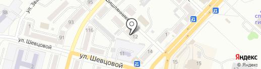 Охотничьи зори на карте Ленинска-Кузнецкого