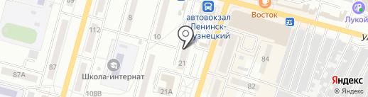 Тех-Креп на карте Ленинска-Кузнецкого