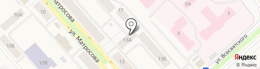 Таймырбыт на карте Дудинки