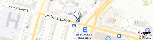 Билайн на карте Ленинска-Кузнецкого