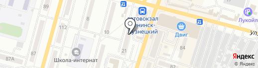 Art style на карте Ленинска-Кузнецкого