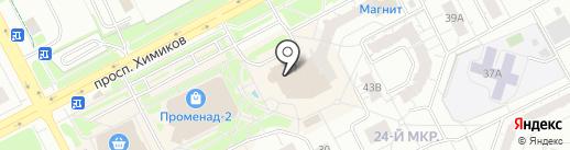 Профиль-К на карте Кемерово