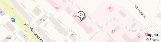 Таймырская межрайонная больница на карте Дудинки