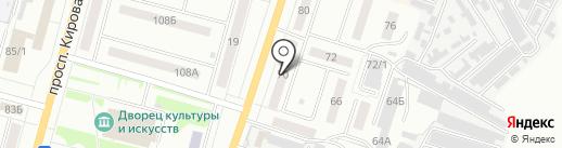 siBEERia на карте Ленинска-Кузнецкого
