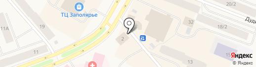 Отдел вневедомственной охраны по Таймырскому Долгано-Ненецкому району на карте Дудинки