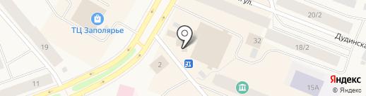 Жасмин на карте Дудинки