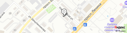 Профессиональная сантехника на карте Ленинска-Кузнецкого