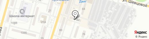 Макс на карте Ленинска-Кузнецкого