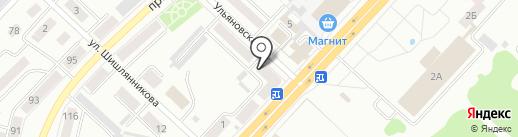 Новая ТИПОГРАФИЯ на карте Ленинска-Кузнецкого