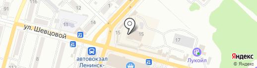 Кузовное железо на карте Ленинска-Кузнецкого