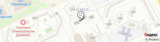 Авангард-Авто на карте Кемерово