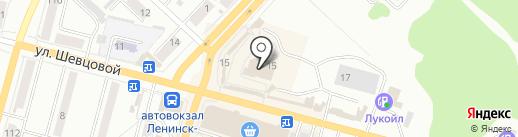 Для милых Дам на карте Ленинска-Кузнецкого