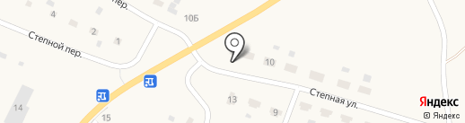 Шиномонтажная мастерская на карте Старобачатов