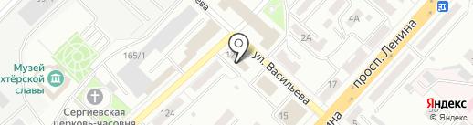 Слайсинг на карте Ленинска-Кузнецкого