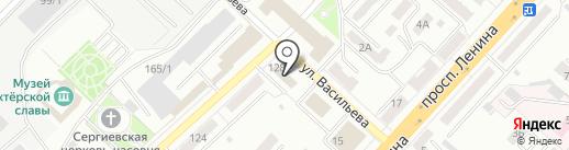 Malina на карте Ленинска-Кузнецкого