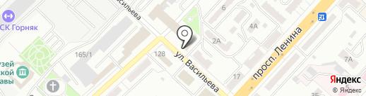 Ростехнадзор на карте Ленинска-Кузнецкого