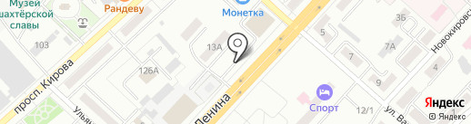 Ленинск-Кузнецкий политехнический техникум на карте Ленинска-Кузнецкого