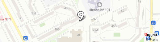 IQ007 на карте Кемерово