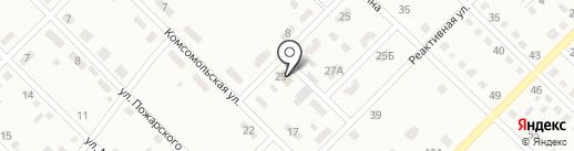 Клара на карте Ленинска-Кузнецкого