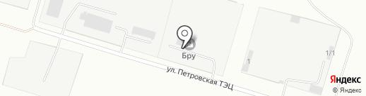 БРУ на карте Андреевки