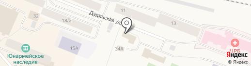 Удачный на карте Дудинки