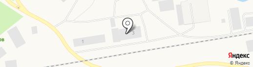 Предприятие тепловых и электрических ситей г. Дудинка на карте Дудинки