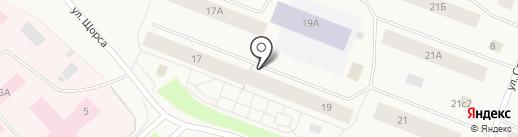 Нор на карте Дудинки