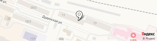 Участковый пункт полиции №3 на карте Дудинки