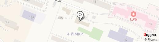 MIA на карте Дудинки