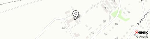Продовольственный магазин на Лунной на карте Ленинска-Кузнецкого