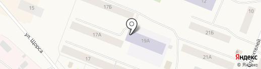 Льдинка на карте Дудинки