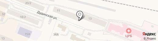 Диана на карте Дудинки