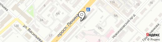 Анекс Тур на карте Ленинска-Кузнецкого